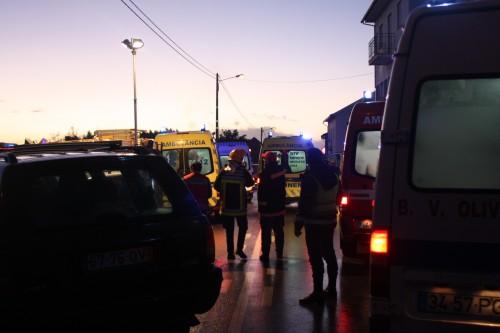 Embate frontal em Vendas de Galizes provoca sete feridos